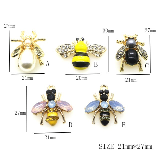 Assorted Cute Animal Bees Fashion Beads Buttons